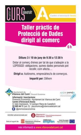 Taller-Proteccio-de-dades-dirigit-al-comerç-cartell