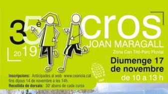El 35è Cros Joan Maragall obrirà el calendari comarcal amb la primera cursa escolar, el pròxim diumenge