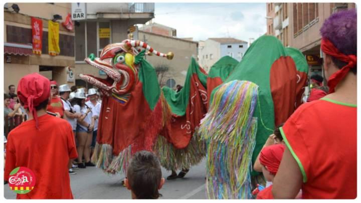 Cercavila Festa popular Camp del Rei 2019