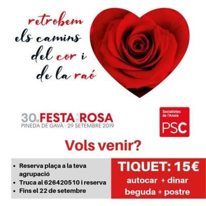Festa de la Rosa PSC