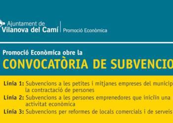 Anunci subvencions treball, emprenedors i reformes 2019