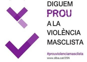 Diguem prou a la violencia 25n