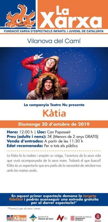 Katia teatre Xarxa Vilanova