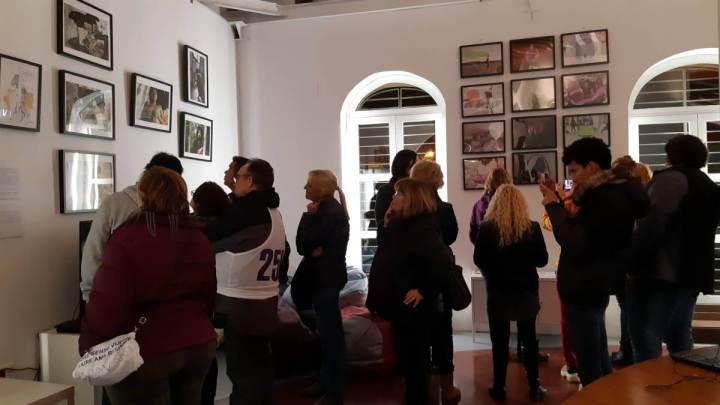 """Inauguració de l'exposició """"Cendres"""""""