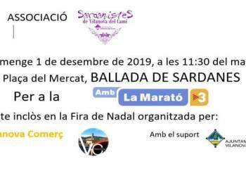 Ballada de sardanes-marato-2019