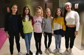 Club Gimnàstic Ballerina al Campionat d'Espanya i classificada per a la final de Copa Catalana