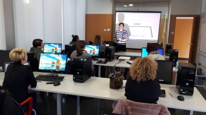 Classe del curs de WordPress bàsic