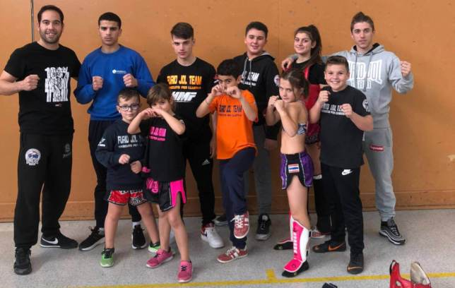 Furio Jol campeonato cataluña Muay Thai FCKBMT