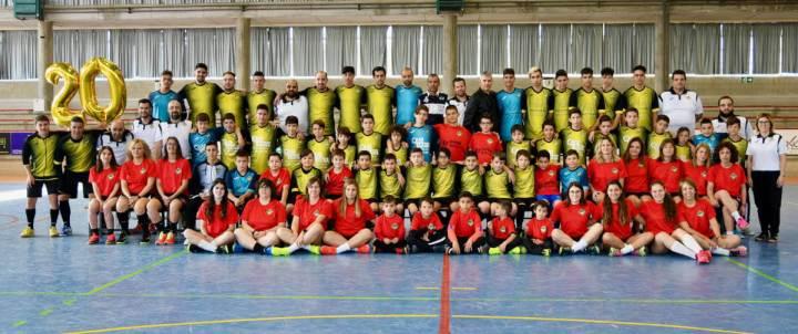Presentacio equips CFS Vilanova 2019-2020 (1)