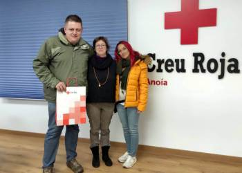 Visita a Creu Roja Anoia nov19