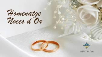 Vilanova del Camí homenatjarà el desembre els matrimonis que celebrin cinquanta anys de casats