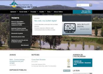 Portada nova web municipal