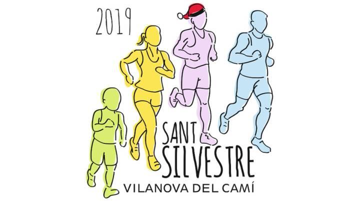 Cartell de la Cursa de Sant Silvestre 2019