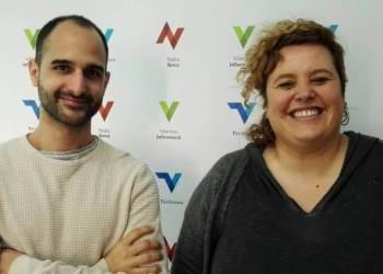 Jordi Sola i Elia Palomas de TIC Anoia