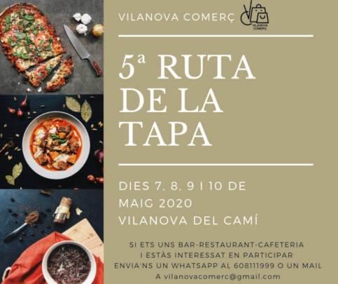 RUTA TAPA-2020-cartell
