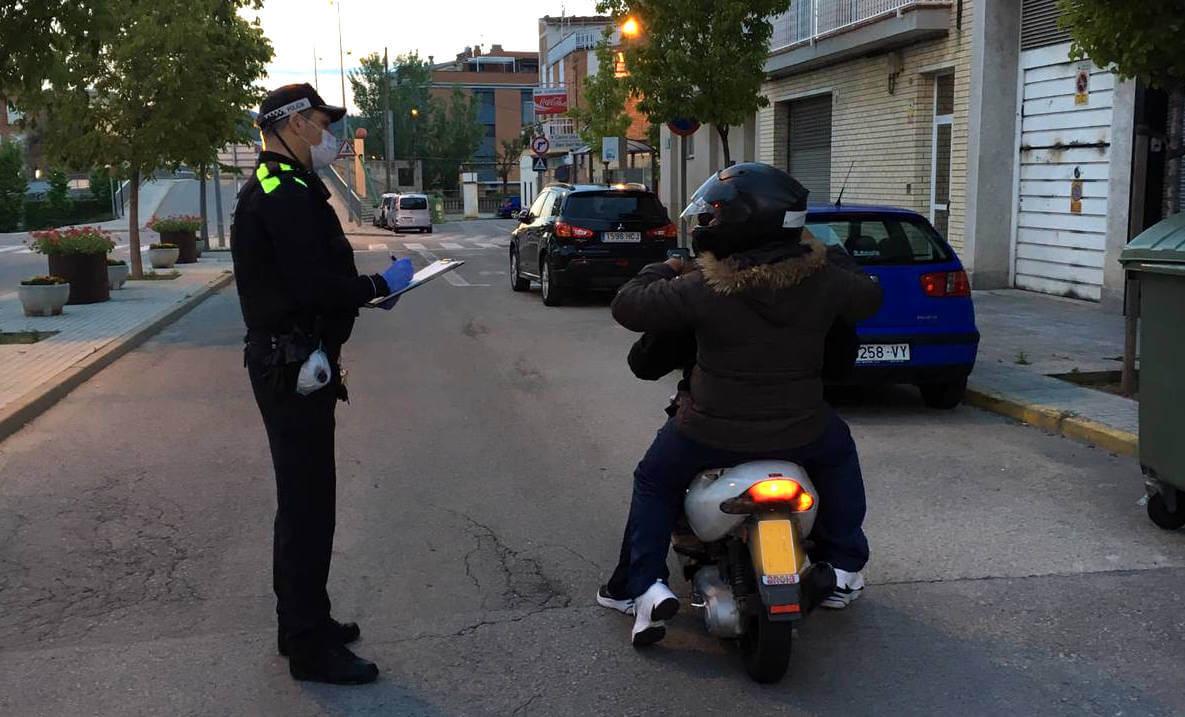 Controls policials 26abr20
