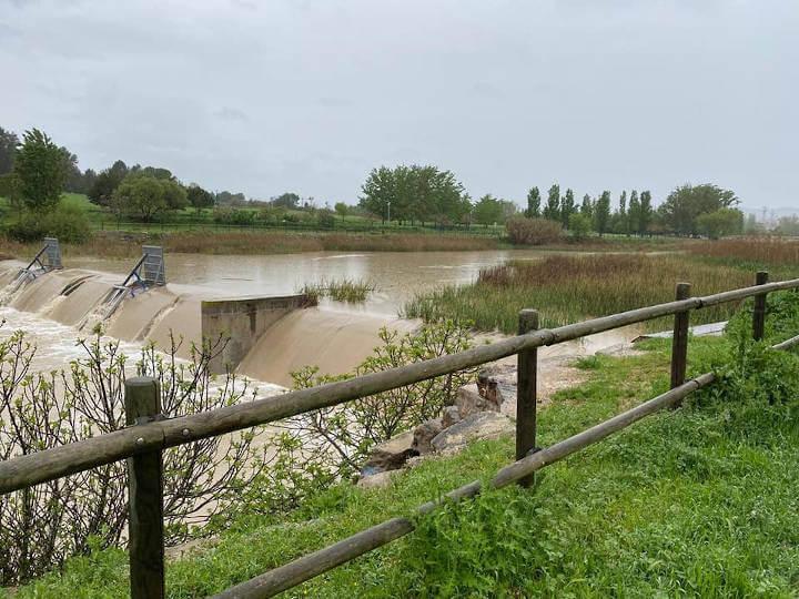 Presa oberta al Parc Fluvial 2