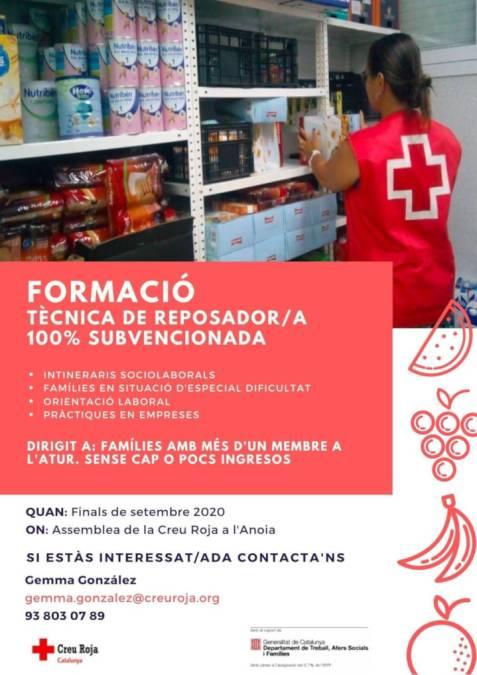 Creu Roja formacio supermercats