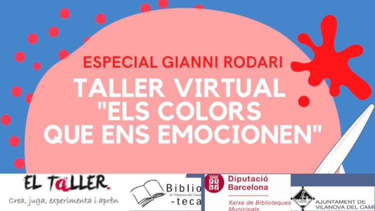 Taller colors Gianni Rodari destacat