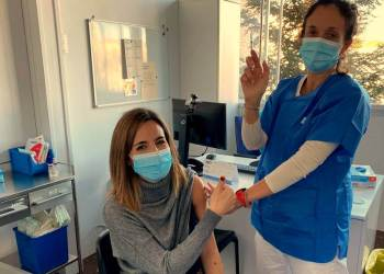 Vacunacio infermeres ICScatalunyaCentral