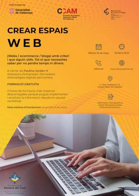 CREAR ESPAIS WEB