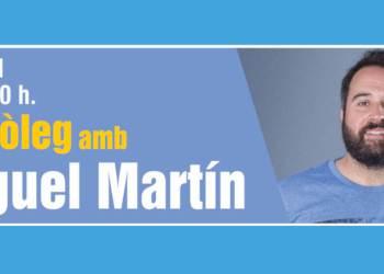 Miguel Martin als divendres a la fresca