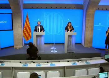 Roda de premsa Govern Catalunya 20jul21