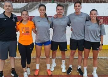 Nuria Martos Amaro equip arbitres Foto Federacio Catalana Handbol-