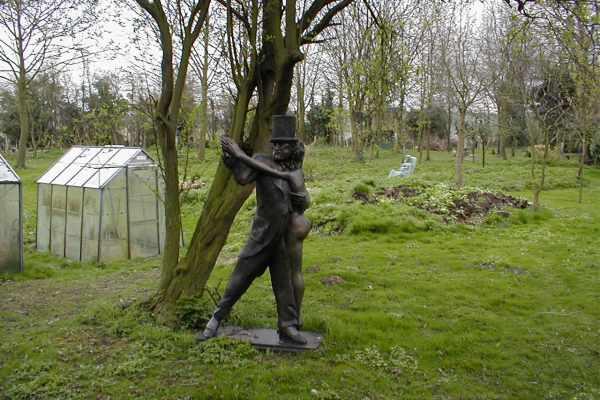 Dance sculpture by John W. Mills