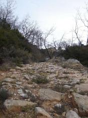 camí de bast a Cornudella de Montsant