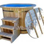 Oval Vildmarksbad Ofuro i plast for 2 personer