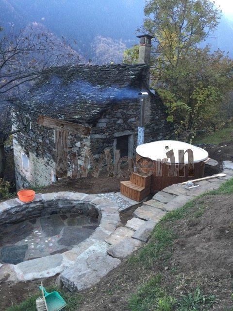 Vildmarksbad I Glassfiber Wellness Royal Steen Valle Antrona Italy 6