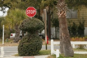 stop sign - dangerous Florida road hazards that cause accidents - Viles and Beckman