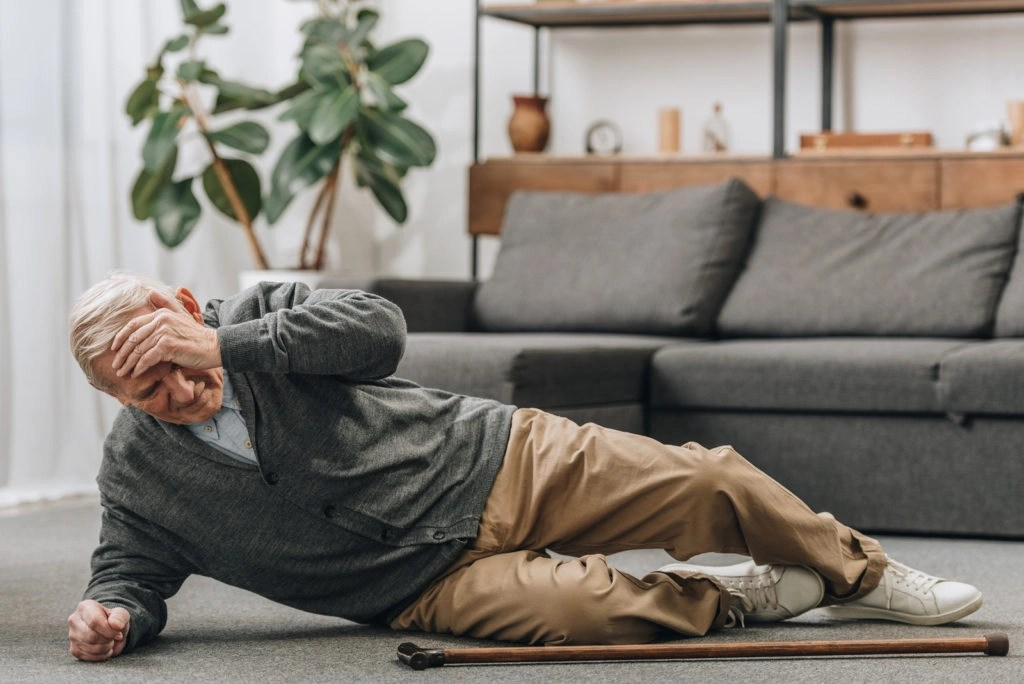 elderly senior fall down - preventing slip and falls for seniors - viles and beckman - fort myers personal injury attorneys