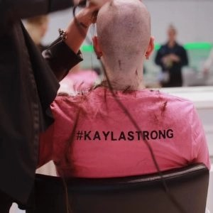 kayla - breast cancer awareness - viles and beckman
