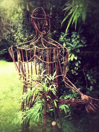 Sculpture in the Bamboo Park, Glengarriff