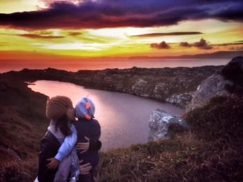 Sunset at Sheep's head peninsula