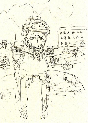 Mohammed som rondellhund