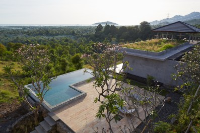 Villa Arun Bali - birds eye view