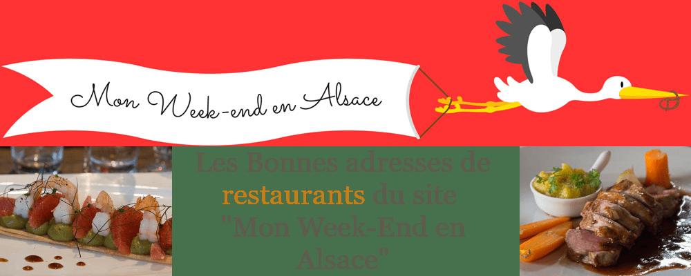 """Les bonnes de restaurants à Colmar de """"Mon Week-end en Alsace"""""""