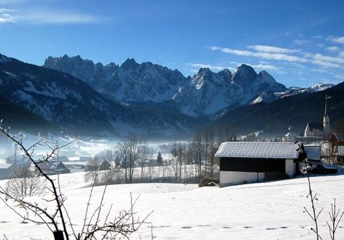 Bilderbuchatmosphäre – Winter im Salzkammergut