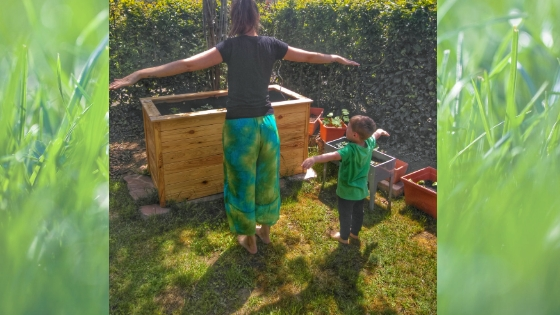 Yoga2 - Yoga für Kinder- Die Geschichte vom Mond zum Nachmachen