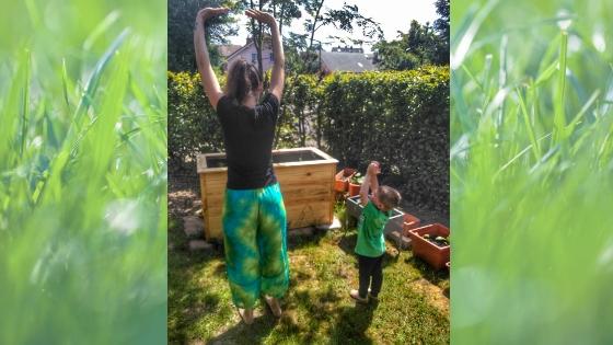 Yoga4 1 - Yoga für Kinder- Die Geschichte vom Mond zum Nachmachen