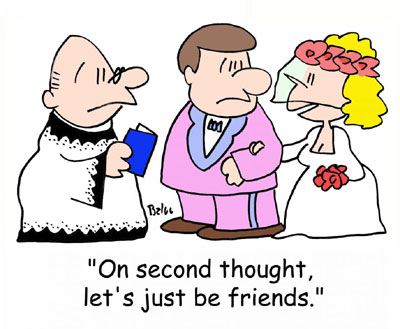 Wedding Ceremony - Let us just be friends