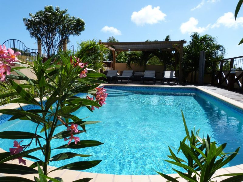 Magnesium zwembad bij Villa Topzicht