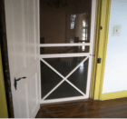 screen door with steel