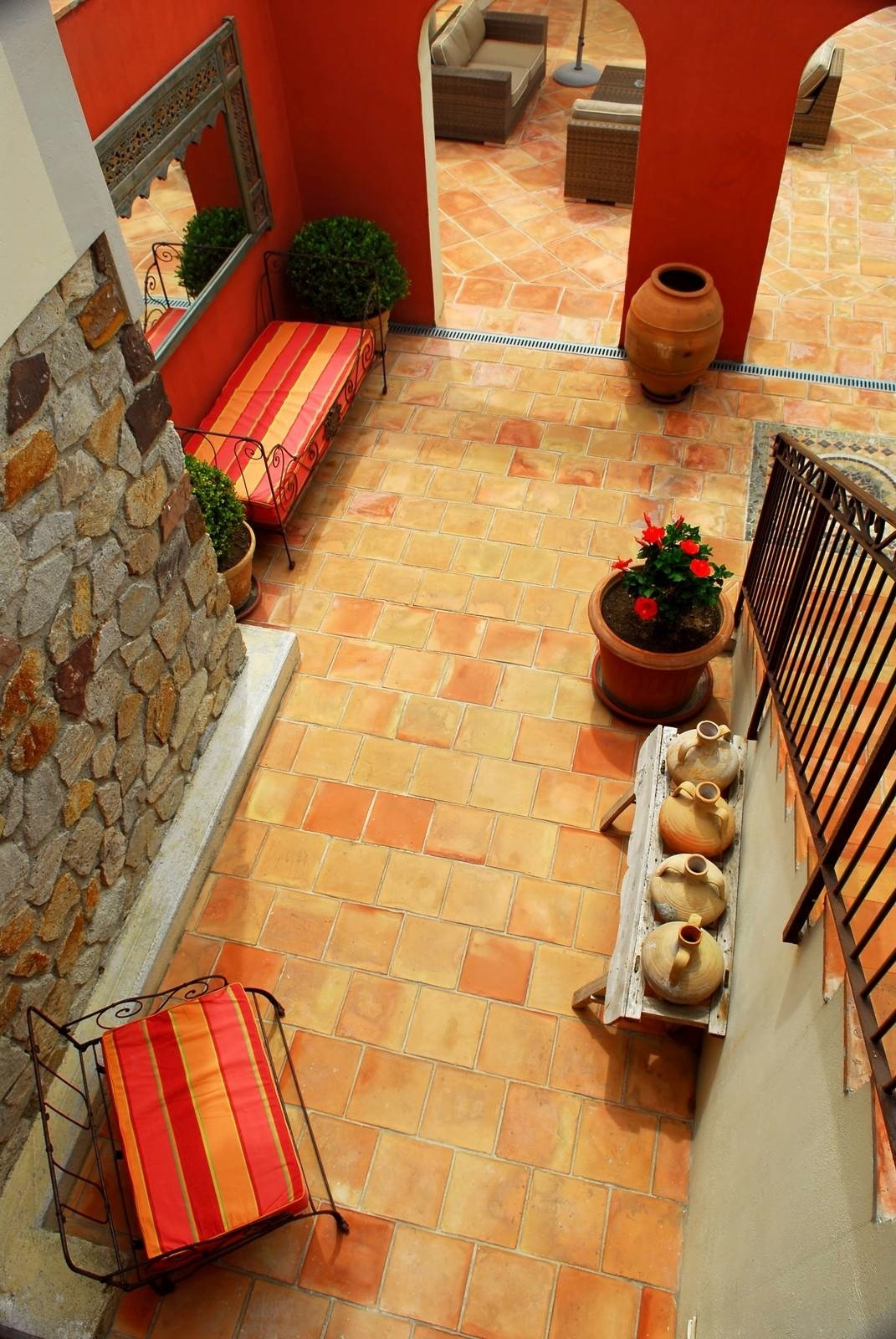 terra cotta and saltillo flooring and
