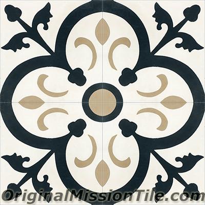 original mission tile cement classic orleans 01 8 x 8