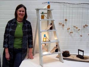 Pauliina Luontoleikkiä näyttelyssä Vihdissä 2008