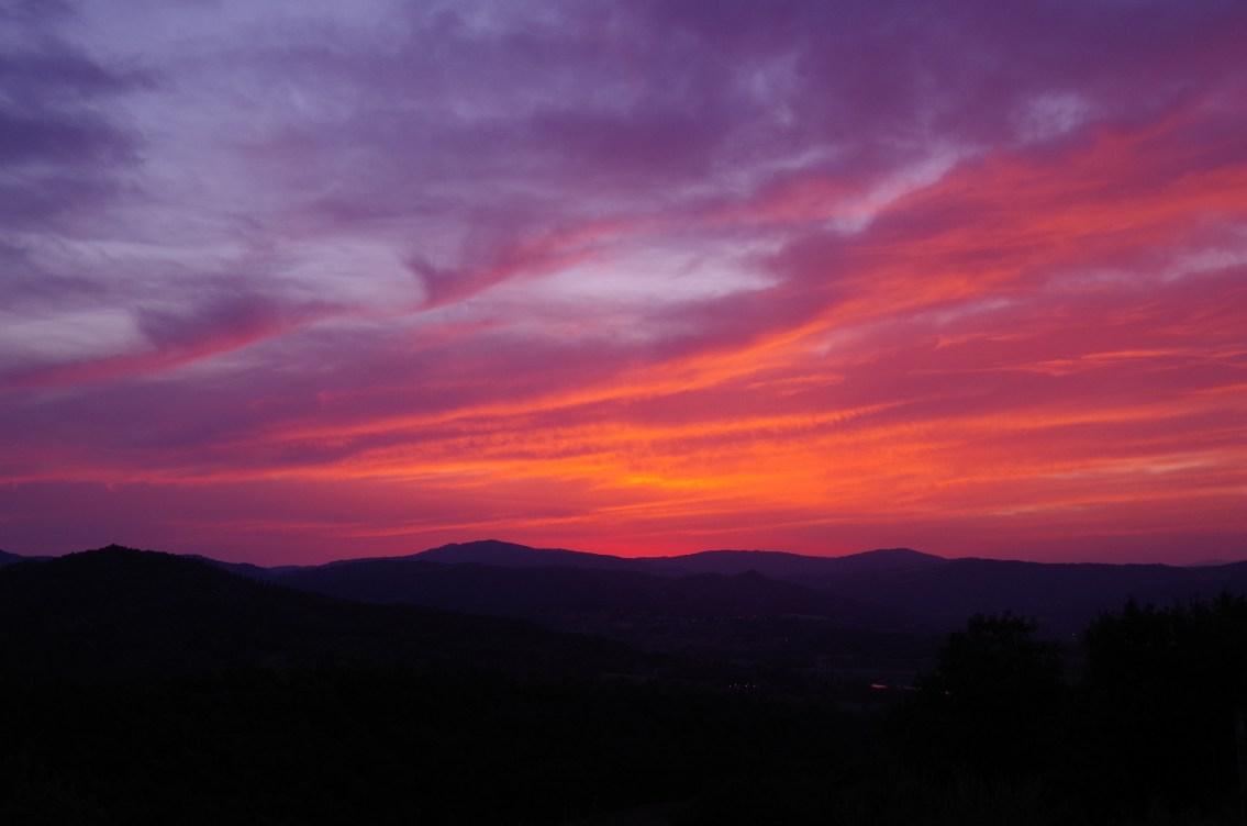 Summer sunset July 2017